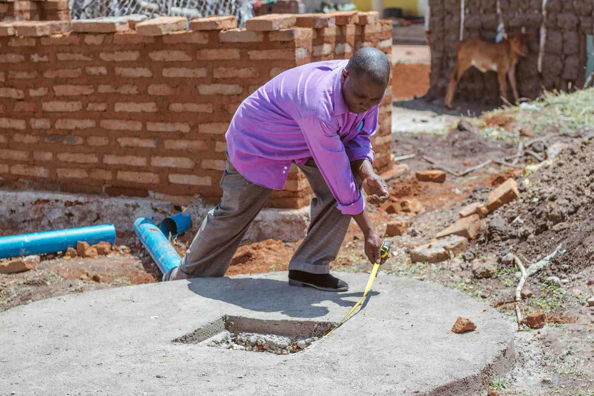 toiletten Oeganda