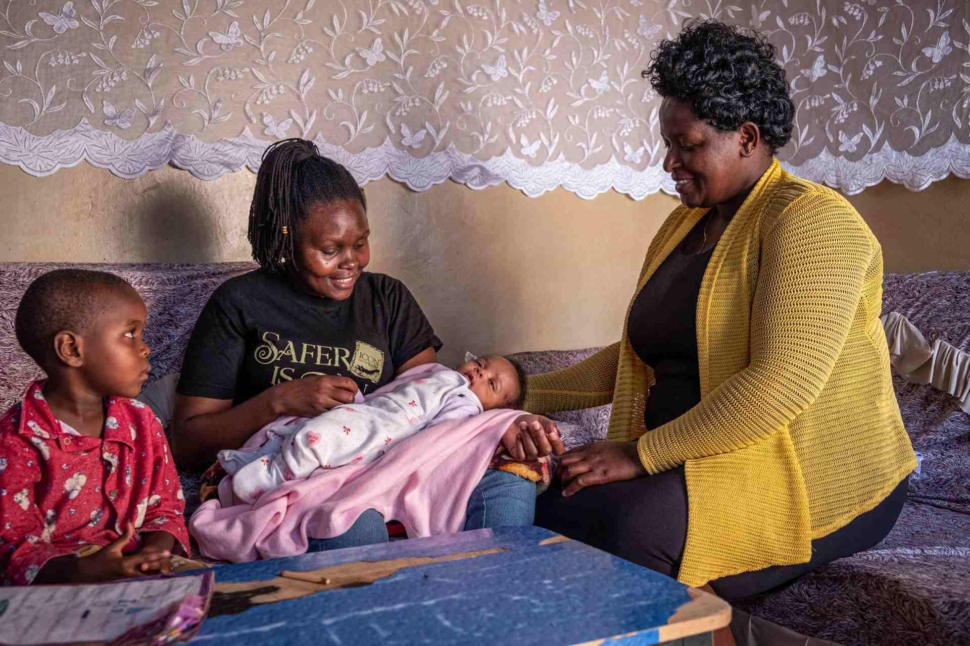 moeder Jacinta veilig bevallen